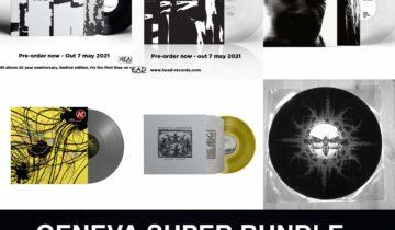 GENEVA SUPER PACK – Shora / Knut / Rorcal – 6 x LP BUNDLE