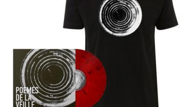 """STÉPHANE BLOK  – """"Poèmes de la veille"""" – BUNDLE LP + T-SHIRT"""